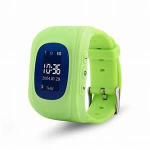 Kids Watch met GPS en locatie zoeker, groen