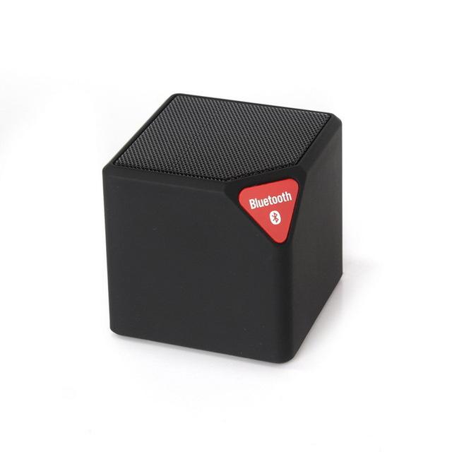 Bluetooth speaker zwart met led