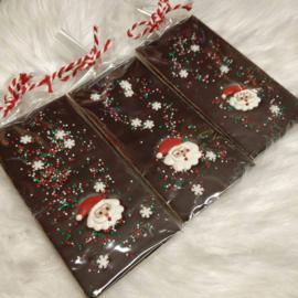 Suklaalevy Tumma suklaa Joulupukki 10kpl
