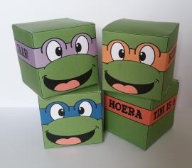 Ninja turtle's - Doosjes