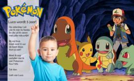 Pokemon & Ash - Uitnodiging 1B