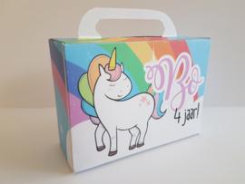 Unicorn - koffertje