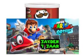 Mario odyssey Pringles wikkel