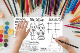 Placemats - Activiteiten Kids