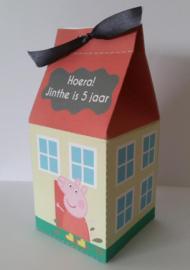 Peppa pig Huisje - KLEINE VERSIE