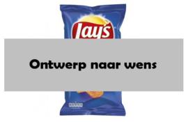 Chips wikkel - Ontwerp naar wens