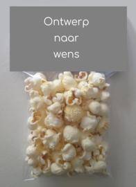 Popcornzakjes - ontwerp naar wens