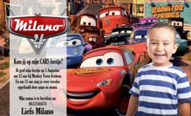 Cars - Uitnodiging
