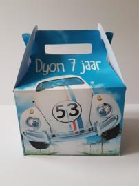Herbie - de eigenwijze kever - koffertje