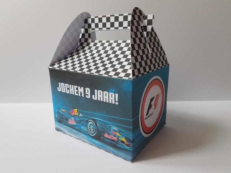 Formule 1 - koffertje