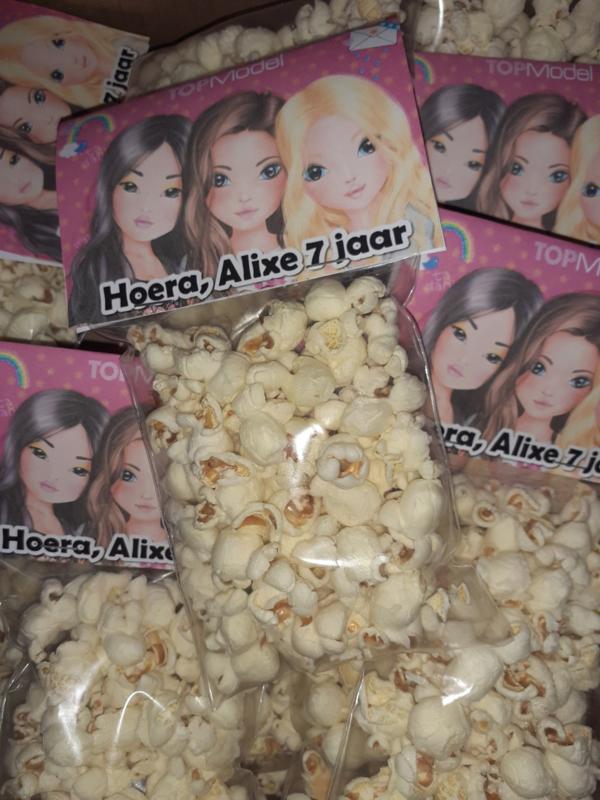 TopModel Popcornzakje