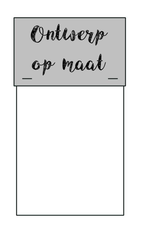 Zakje - ontwerp op maat
