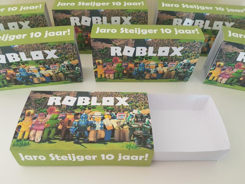Roblox uitschuifdoosje