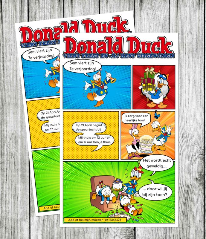 Donald Duck - Uitnodigingen