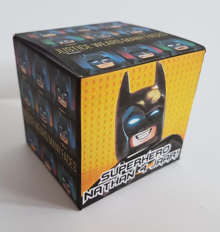 Lego Batman kubus doosje KLEIN