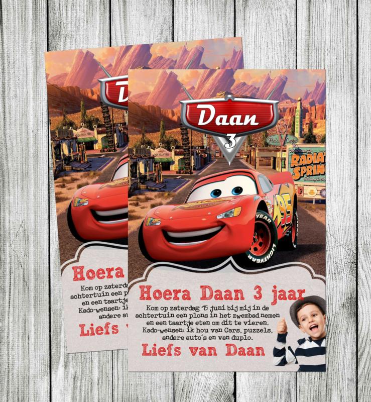 Cars uitnodiging