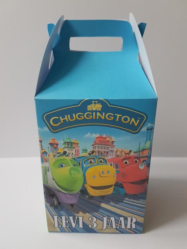 Hoog koffertje - Chuggington
