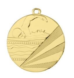 Medaille D112C Zwemmen