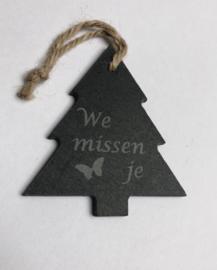 Ster of kerstboom Mis(sen) je