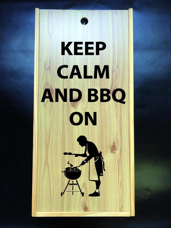 Keep calm BBQ  set