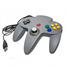 N64 USB controller for  PC GREY