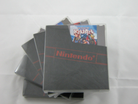 1x Snug Fit Box Protectors For dustcover with nes game