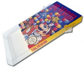 10x Snug Fit Box Protectors For NES