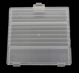 Gameboy Classic Battery cover CLEAR