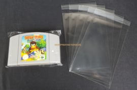 100 x Sleeve for N64 Cartridges