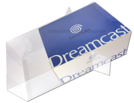 1x Snug Fit Box Protectors For Sega Dreamcast Console 0.4 MM !