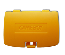 Gameboy COLOR Battery cover YELLOW