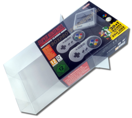 1x Snug Fit Box Protectors For SNES MINI 0.4 MM