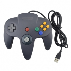 N64 USB controller for  PC DONKER GREY