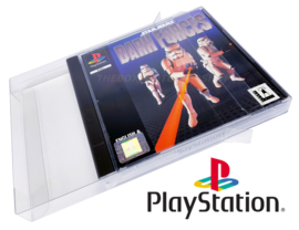 Playstation 1 Game box protectors