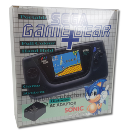 1x Snug Fit Box Protectors For Sega Game Gear Console 0.4 MM