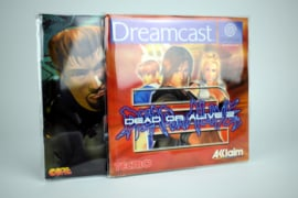 1 x Handleiding / Manual Sleeves for Dreamcast