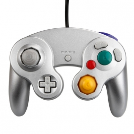 Gamecube controller SILVER NEW
