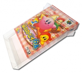 N64 NTSC - Jap Game Box Protectors