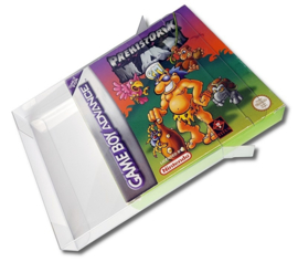 Gameboy Game Box Protectors