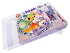 10x Snug Fit Box Protectors For Gameboy Color Japanese Games