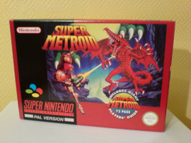 1x Snug Fit Box Protectors For SNES Super Metroid