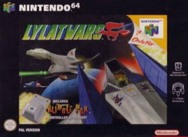 N64 Big box Lylat wars