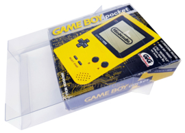 1x Snug Fit Box Protectors For Gameboy Pocket Console 0.4 MM !