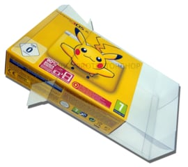 1x Snug Fit Box Protectors For 3DS XL Console 0.4 MM !