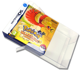 1 x SNUG FIT Boxprotector  HeartGold & SoulSilver 0.4MM !