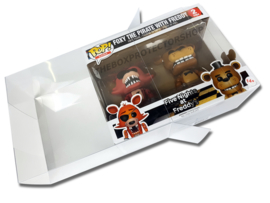 5x Box Protectors For Funko PoP 2PACK