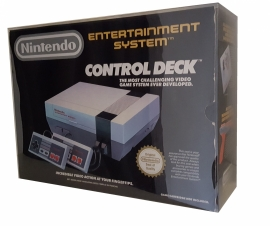 1x Snug Fit Box Protectors For NES CONTROL DECK 0.5 MM !