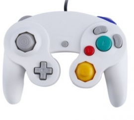 Gamecube controller WHITE NEW!
