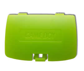 Gameboy COLOR Battery cover Lime Green