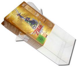 1 x Snug Fit Box Protector Wii Controller Skyward sword edition  0.4 MM !
